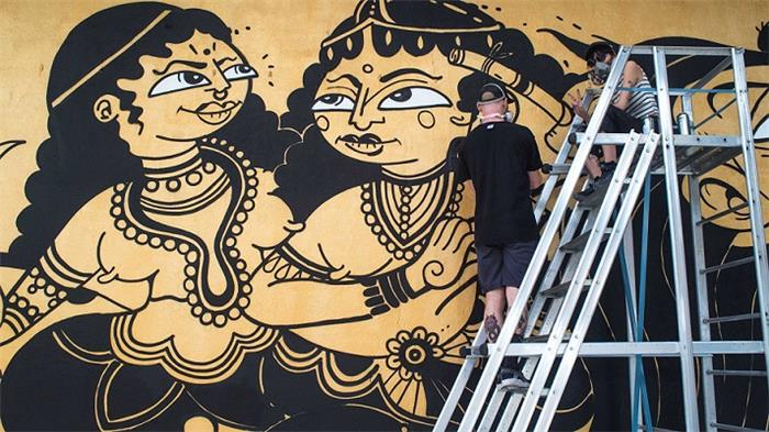 Start Mumbai 2017 Urban Art Festival Kicks off the Mahim (E) Art District with Public Art and Urban Design Interventions