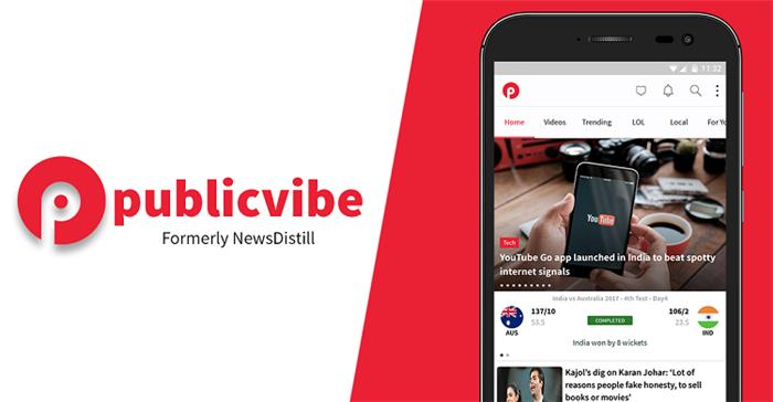 NewsDistill is Now PublicVibe