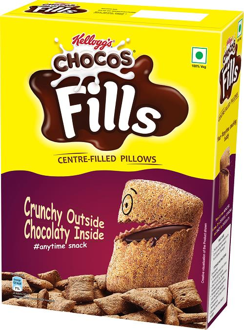 Kellogg India Launches Chocos Fills