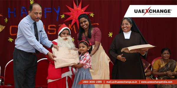 UAE Exchange India Celebrates Christmas at St. Teresa