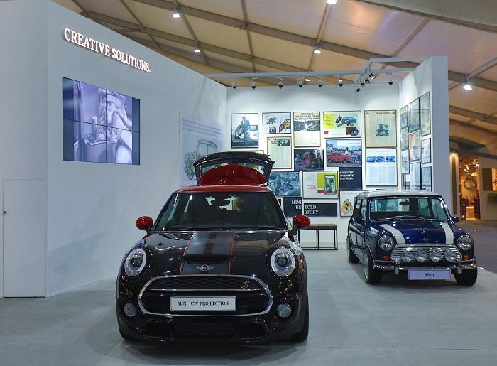 Mini Showcases Mini In Design And Creative Solutions At India Design