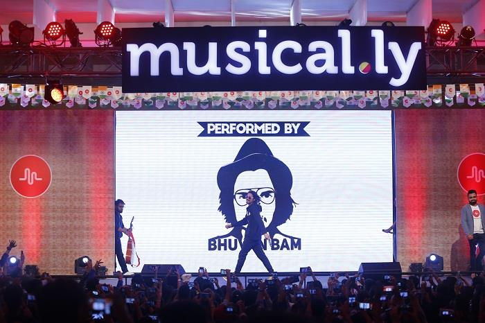 Worlds largest short video app musical comes of age in india bhuvan bam performing at musical fest m4hsunfo