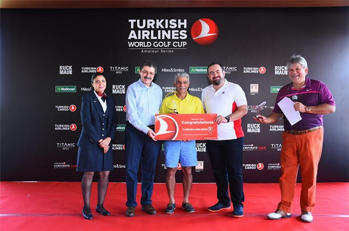 Turkish Airlines World Golf Cup Played in Mumbai & New Delhi