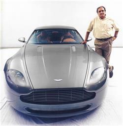 Dilip Chhabria Built Prototype Of Aston Martin Unveiled At The - Aston martin dc